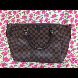 Large Brown bag with strap